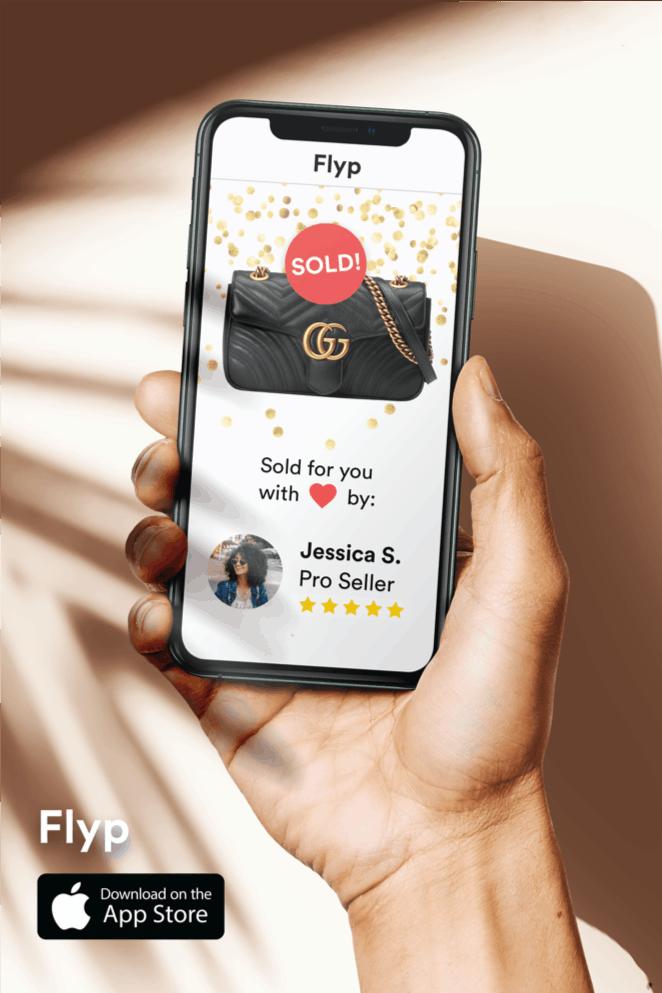 Flyp app mockup