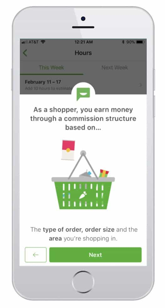 how much does instacart pay