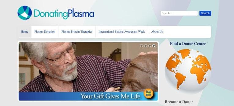 donatingplasma homepage
