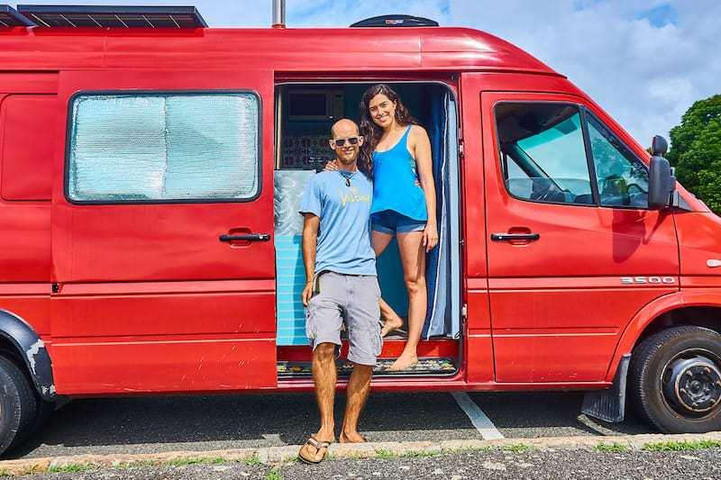 Matt and Alli Owen living in a van full time
