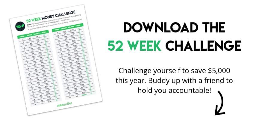 Download the 52 Week Money Challenge