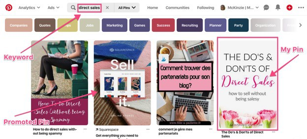 How to Use Pinterest Search