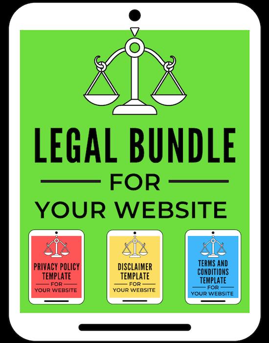 legal bundle for bloggers