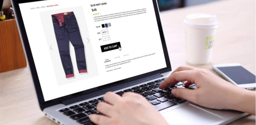 person starting an ecommerce site