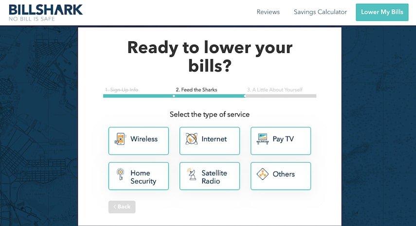 BillShark: Choose Your Bills