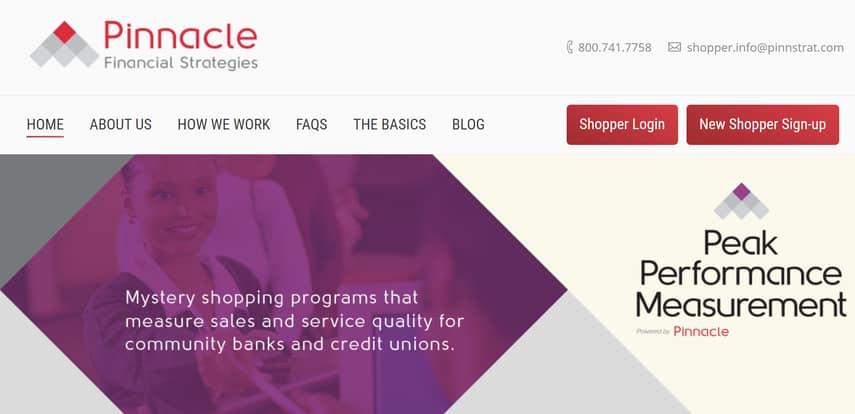 pinnacle financial strategies homepage