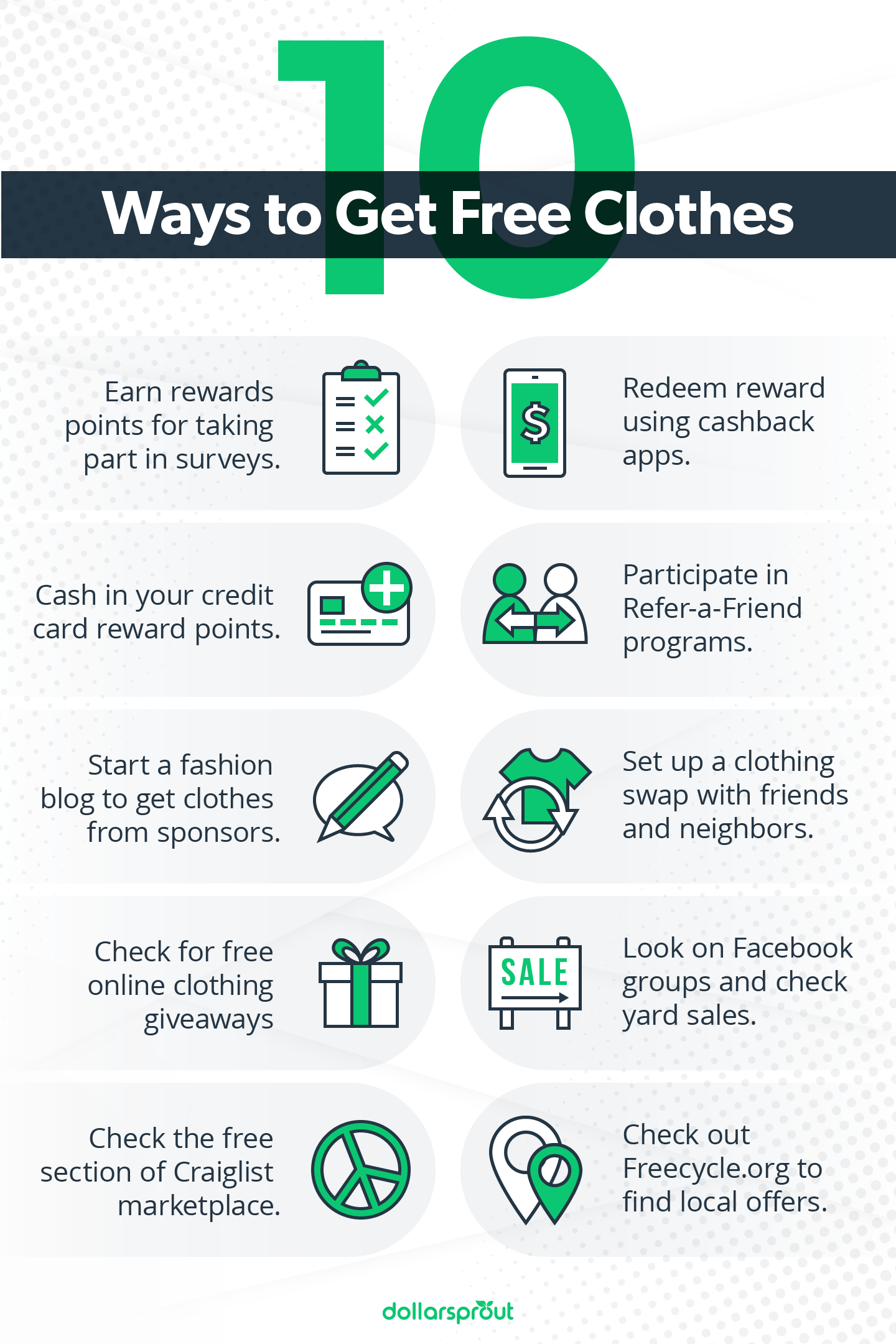 10 Ways to Get Free Clothes Online