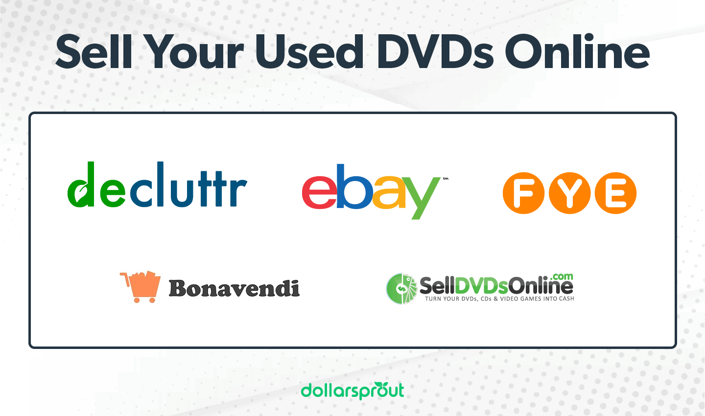 Sell Your Used DVDs Online