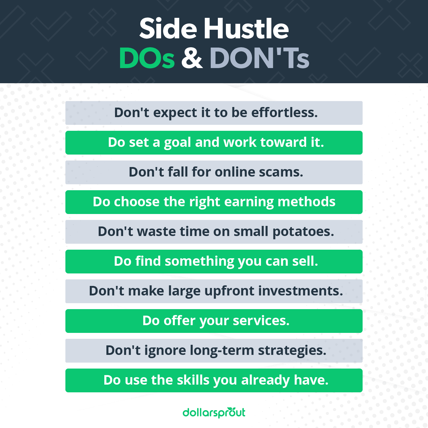 Side Hustle Dos and Don'ts