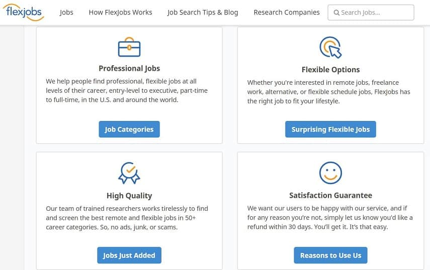 How FlexJobs works