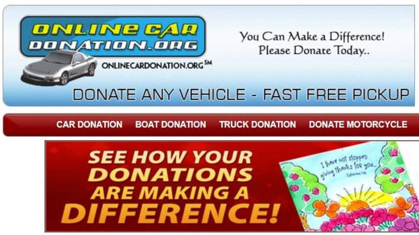 Online Car Donation