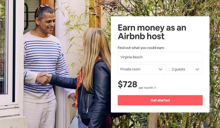 airbnb earnings screenshot