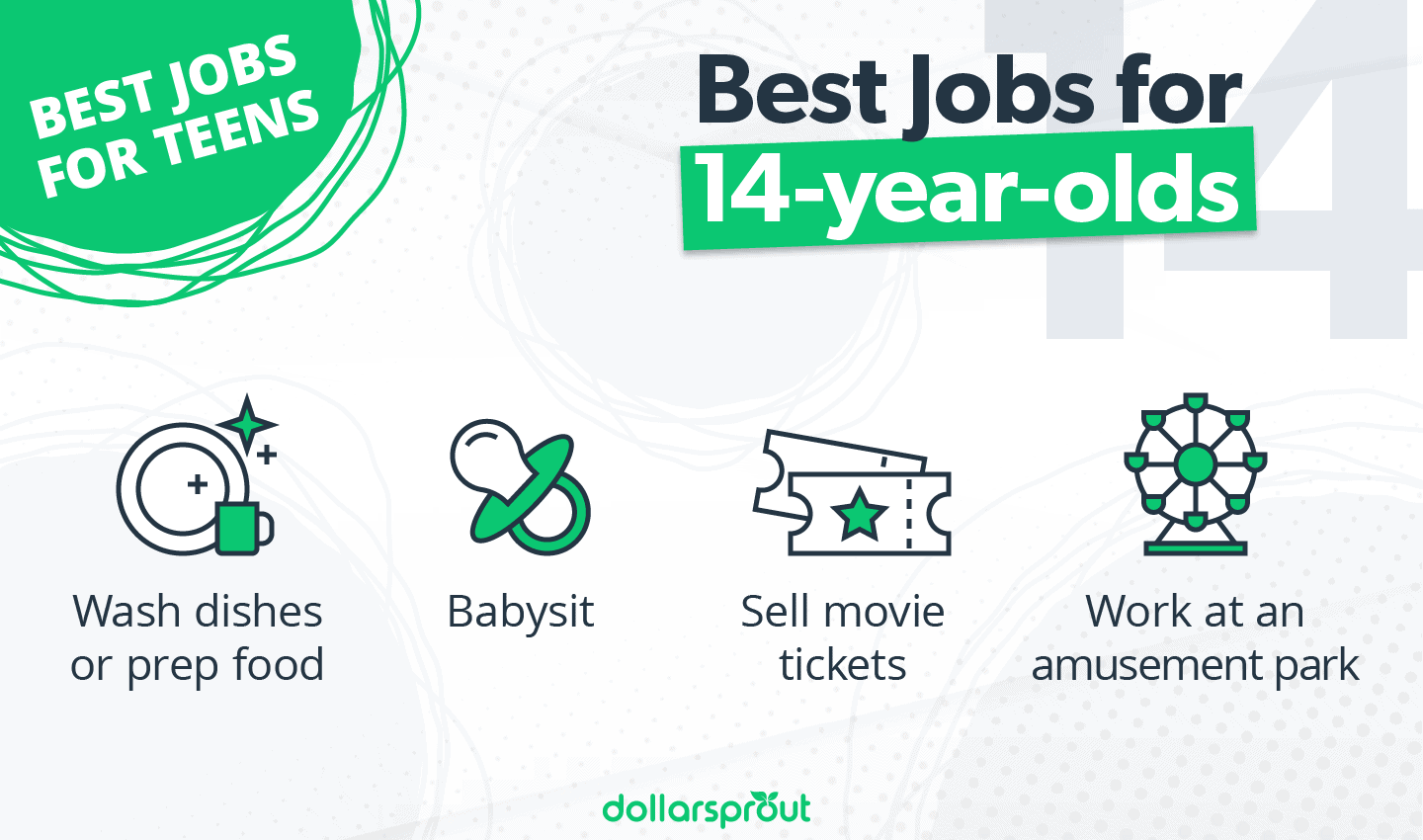Best Jobs for 14-year-olds