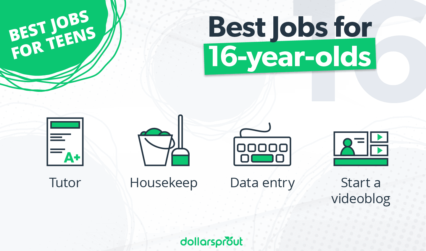 Best Jobs for 16-year-olds