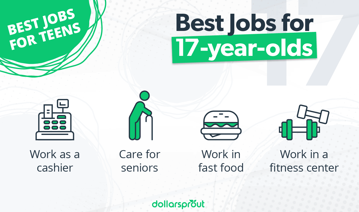 Best Jobs for 17-year-olds