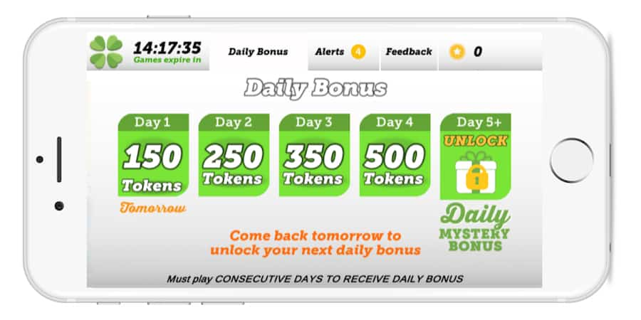 Lucktastic Daily Bonus