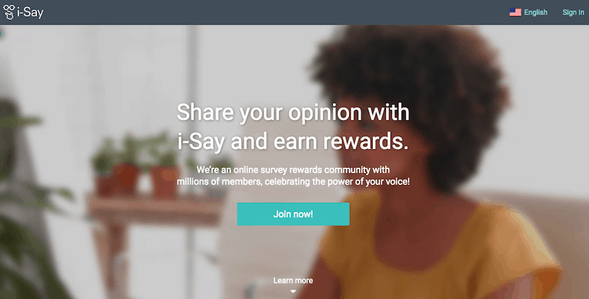 iSay Homepage