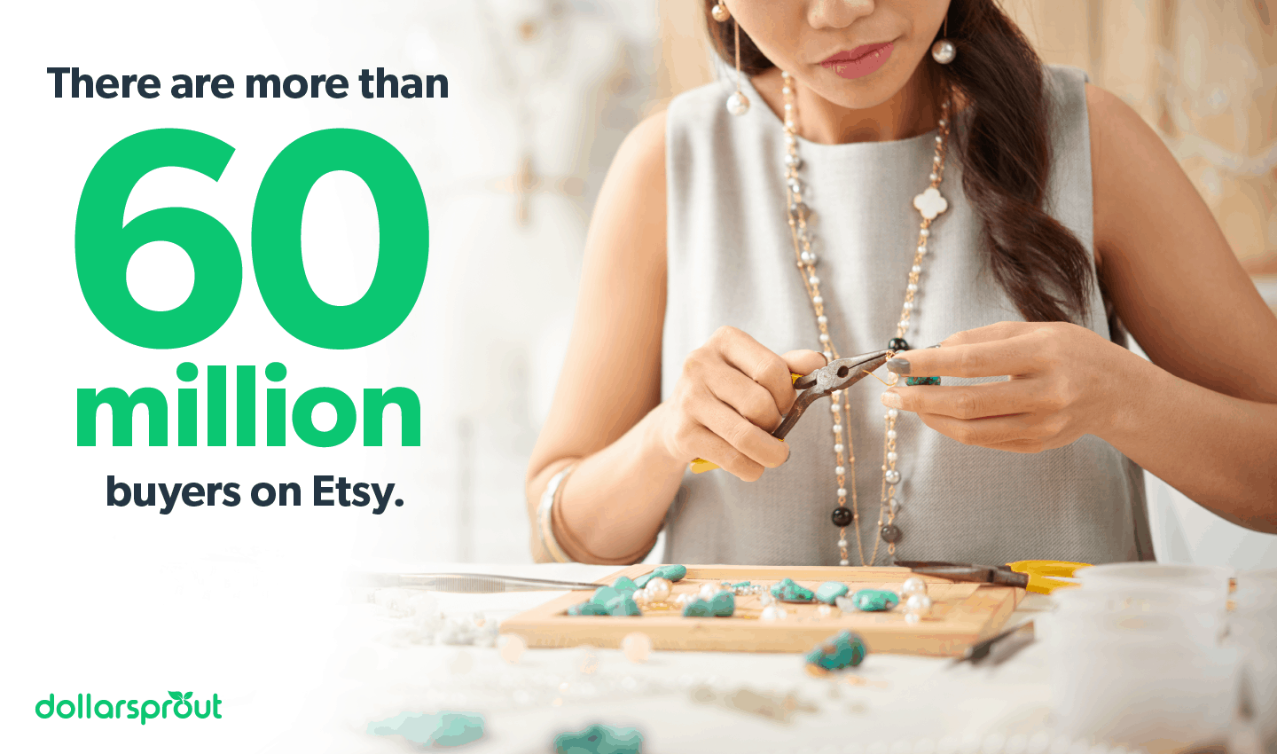 Number of buyers on Etsy
