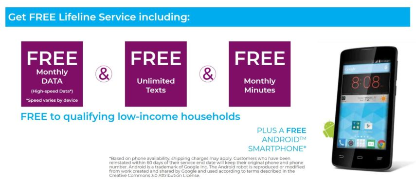 Assurance Wireless offers free Android phones and free cell phone service to those who qualify for the Lifeline program