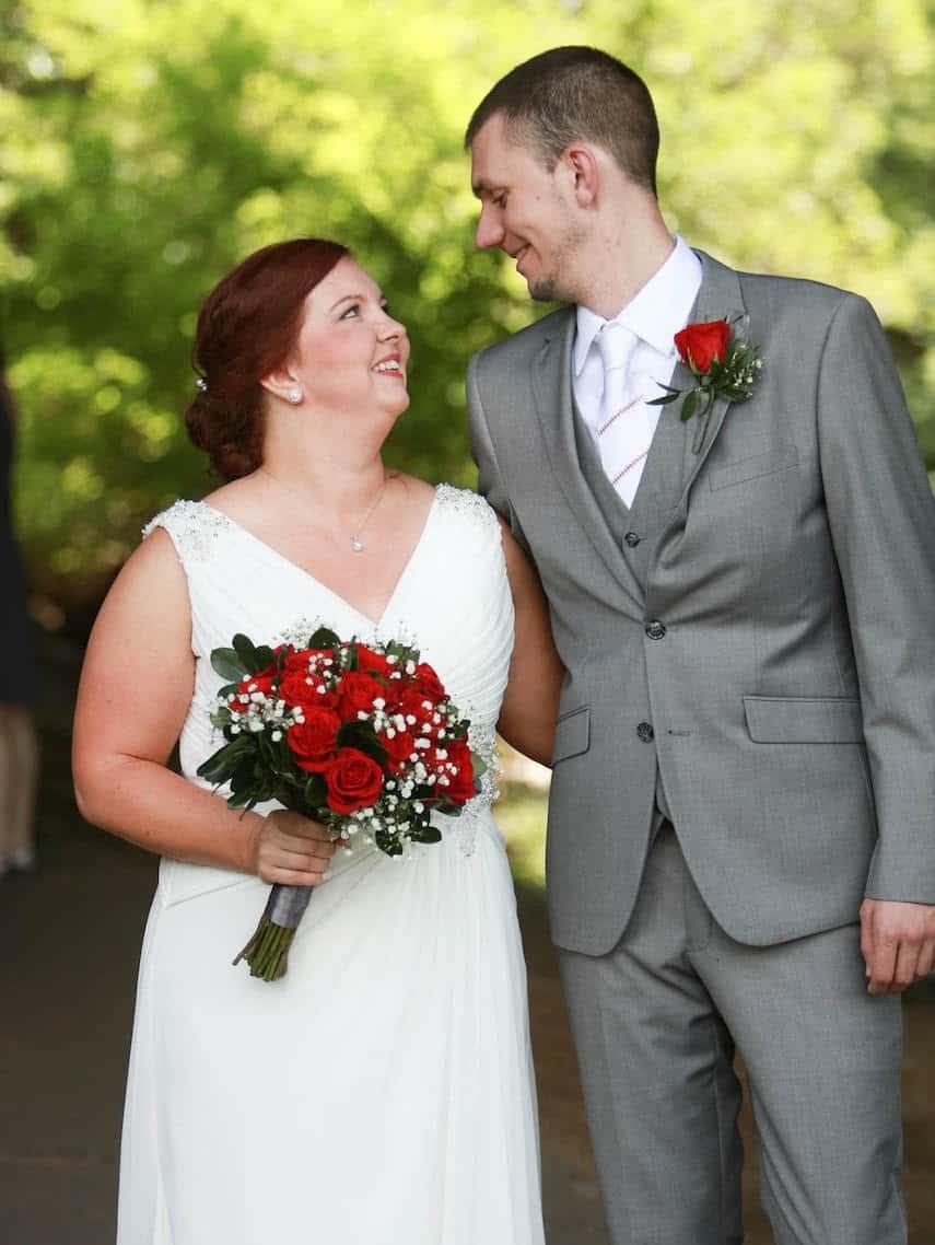 Micah Jankowski Wedding Photo