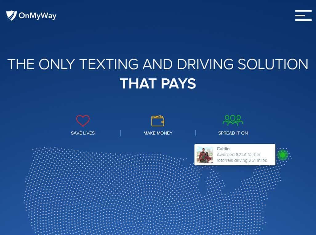 OnMyWay website