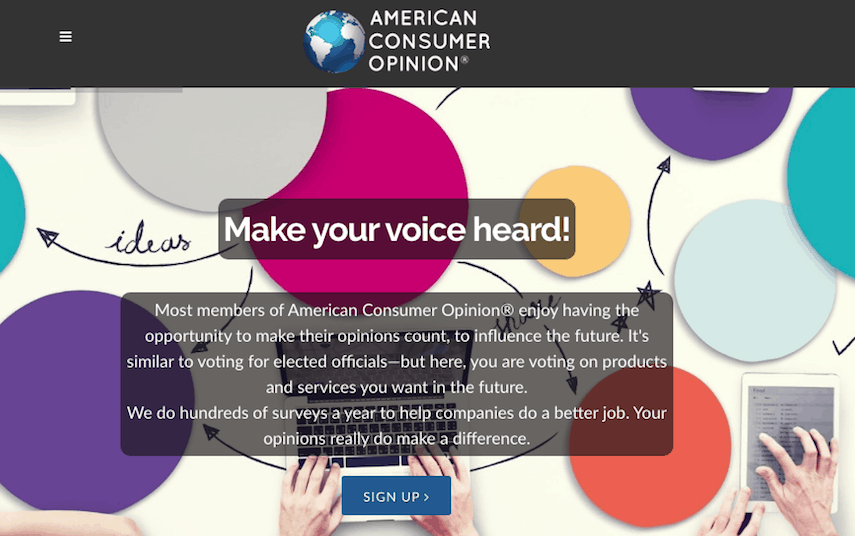 American Consumer Opinion Homepage