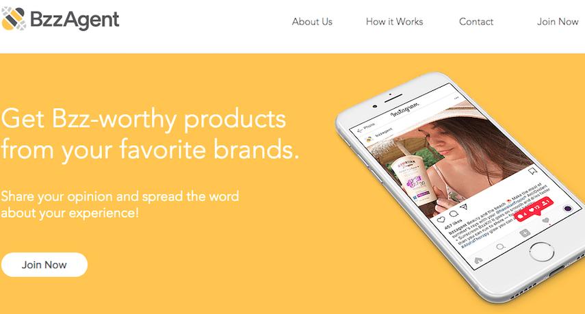 BzzAgent Homepage