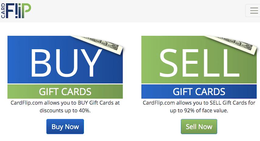 Cardflip Homepage
