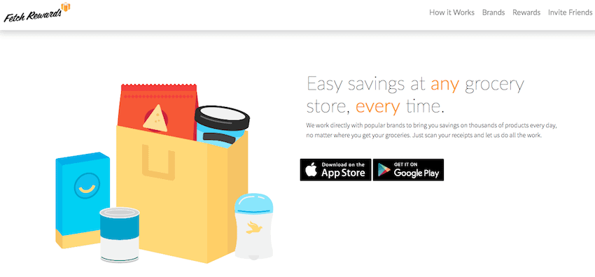 Fetch Rewards Homepage