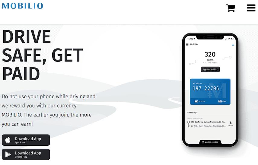 Mobilio Homepage