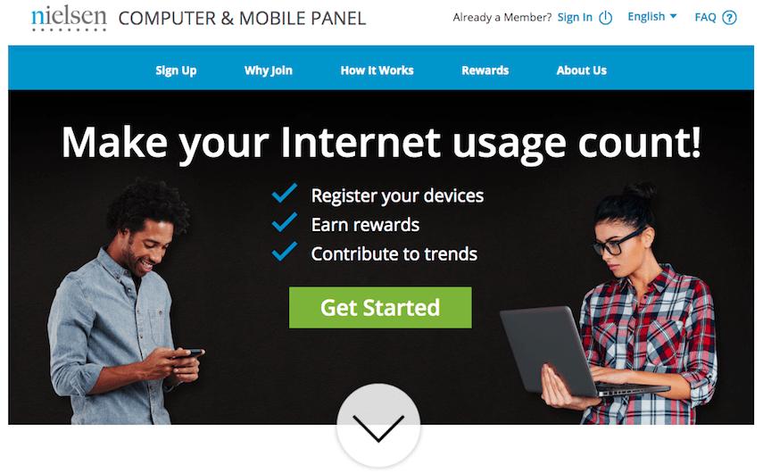 Nielsen Homepage