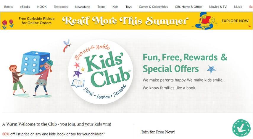 Barnes & Noble Kids' Club