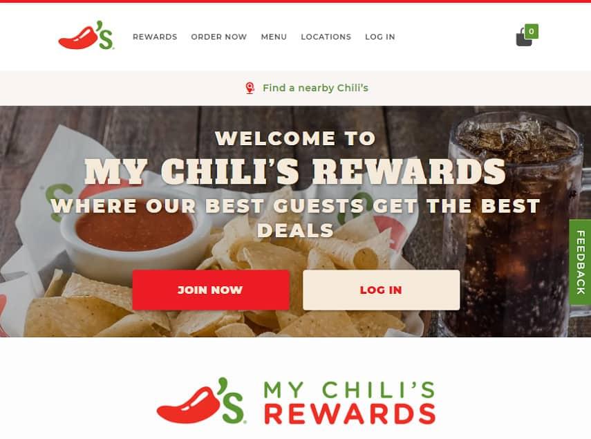 Chili's rewards program