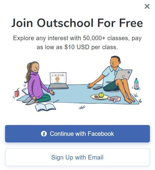Join Outschool for free