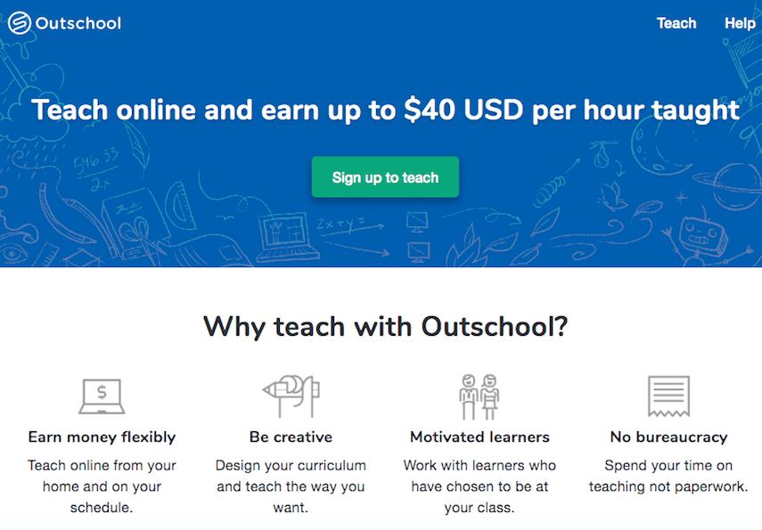 Outschool Teaching