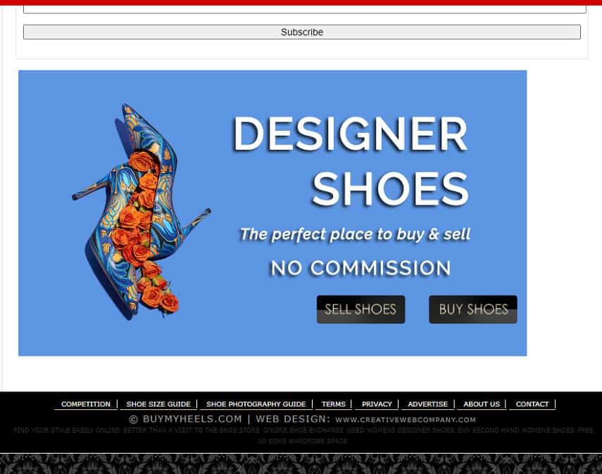 buymyheels homepage
