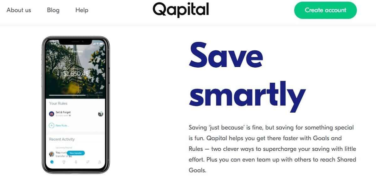 Qapital screenshot