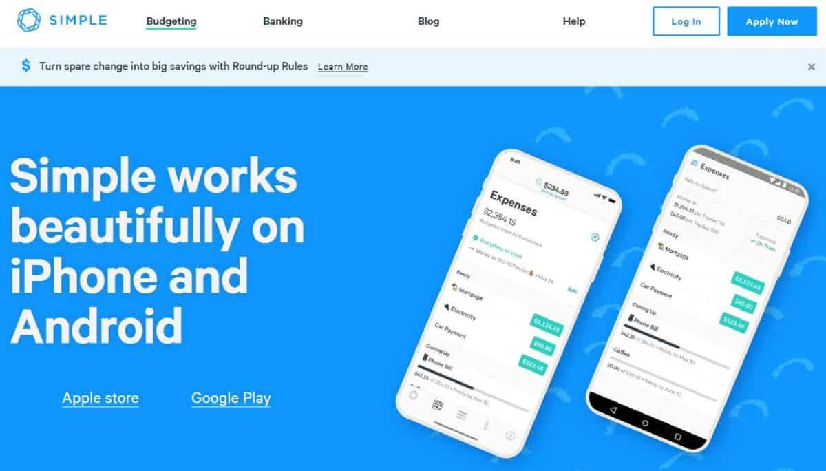 Simple app screenshot