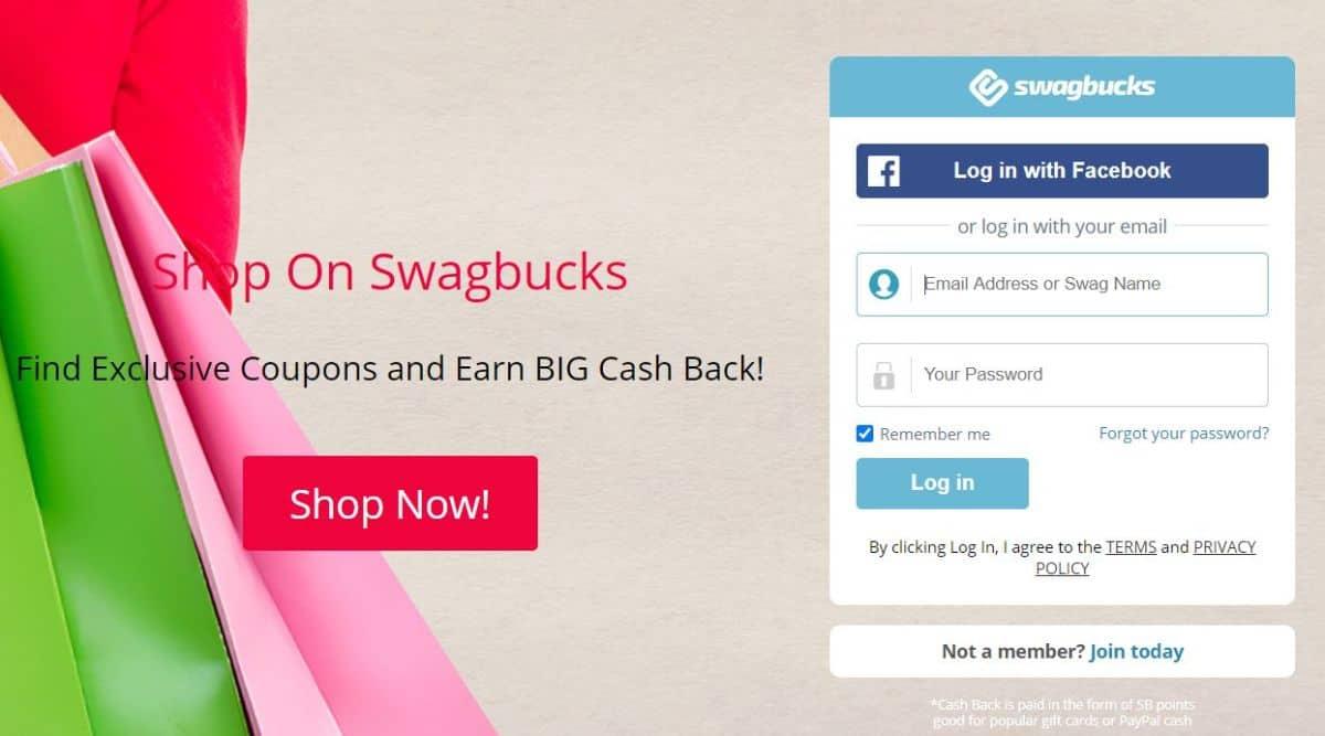 Swagbucks screenshot