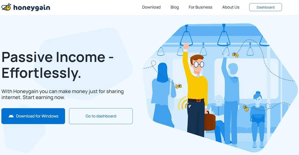 Honeygain screenshot