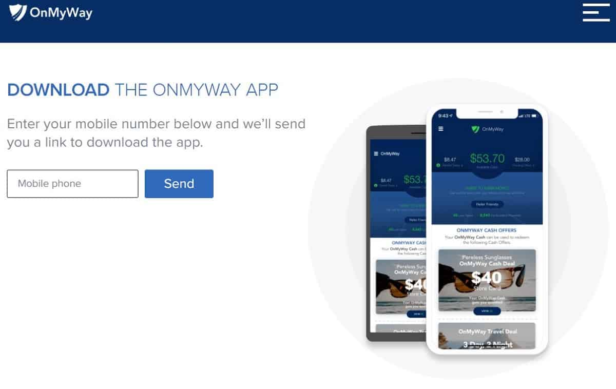 OnMyWay screenshot