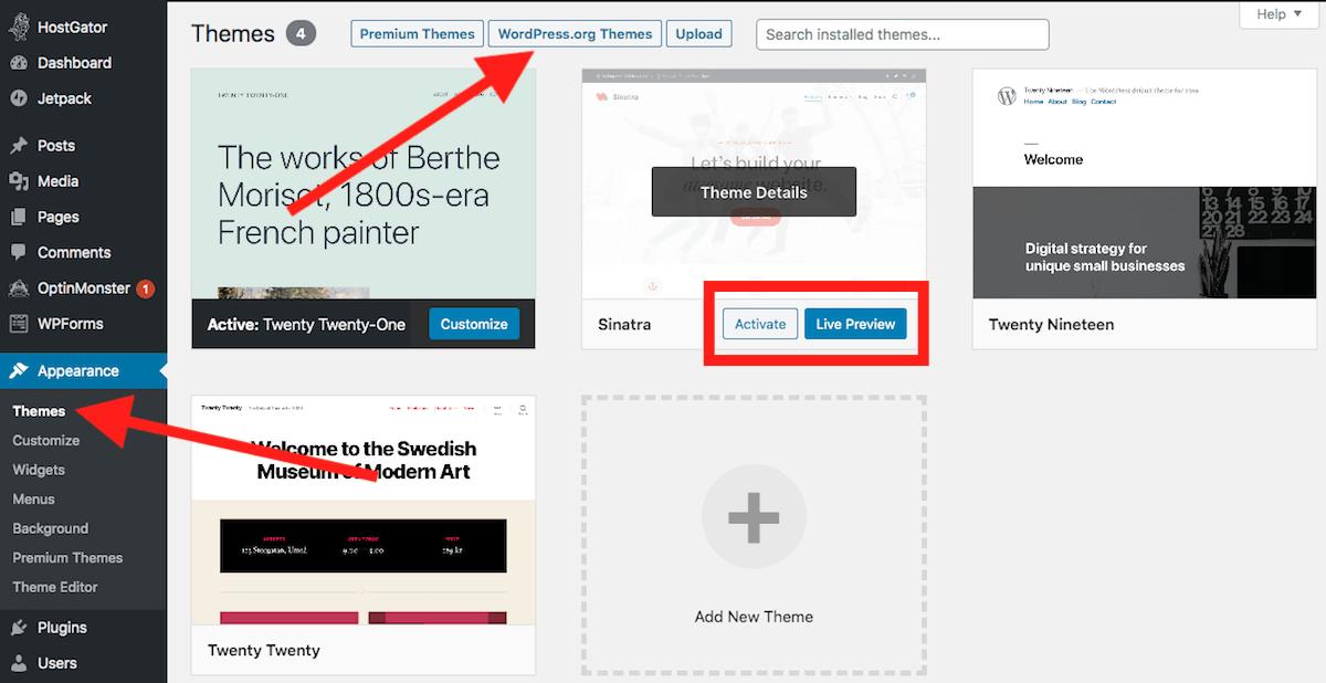 WordPress Free Themes