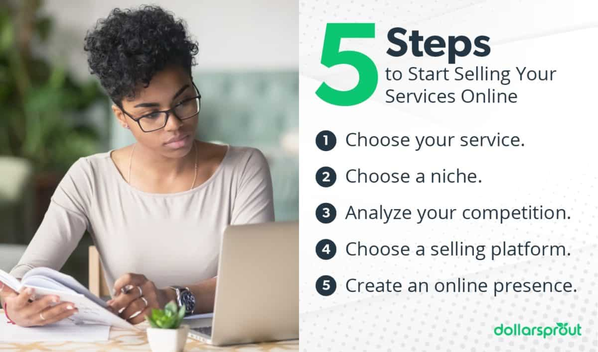 steps to start selling your services