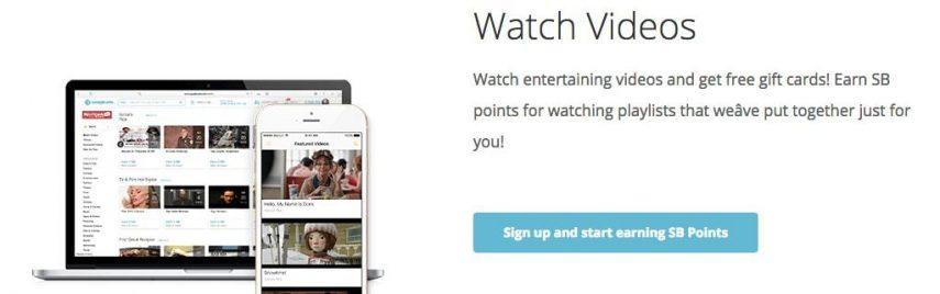 Watch Videos with Swagbucks