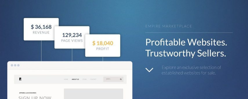 passive income online with empire flippers
